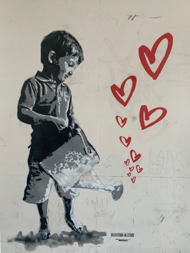 Arte de rua por Alessio B